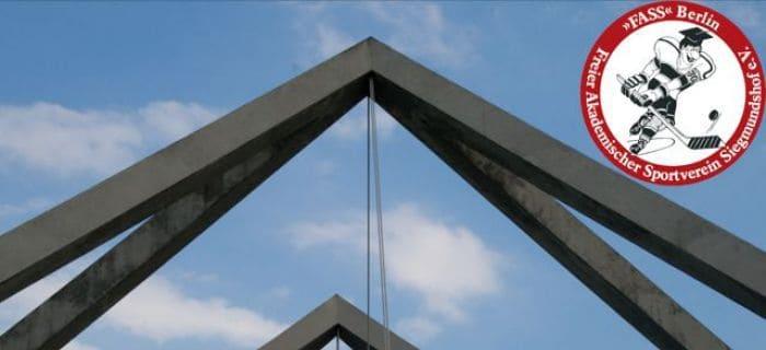 Dach des Stadions