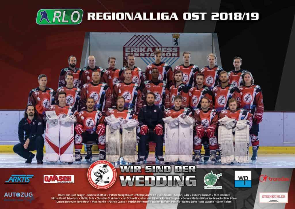 FASS Berlin Team Regionalliga Ost 2018/2019