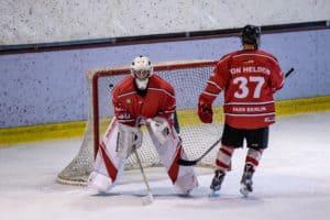 Max Franke im Tor der Landesliga