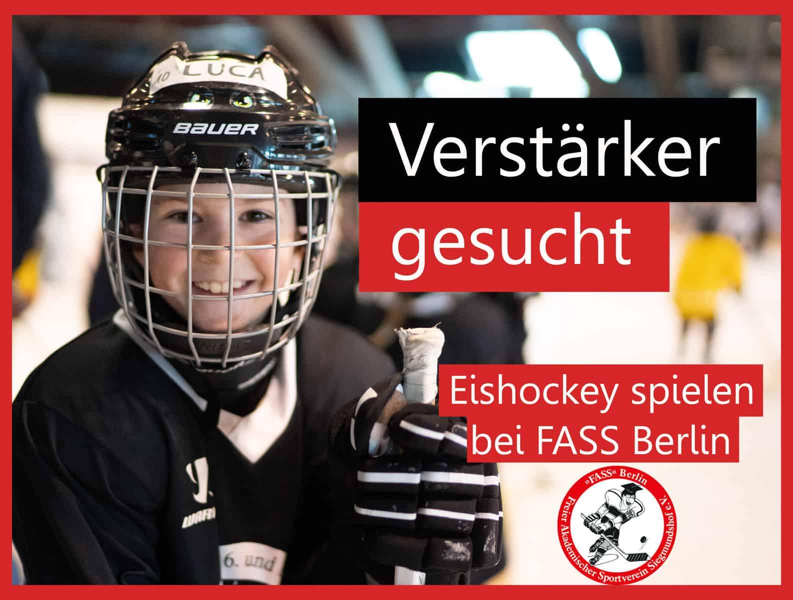 Mitspielen im Nachwuchs von FASS Berlin - Nimm jetzt Kontakt auf!